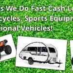 Recreational Vehicle Pawning